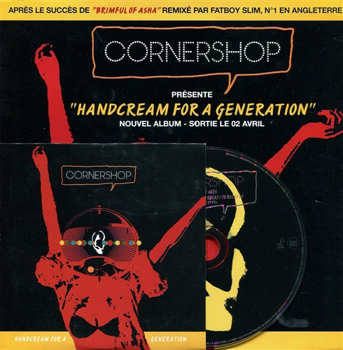 Cornershop - Handcream For A Generation- Cd Single France