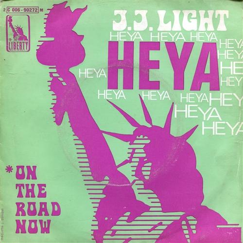 J.J. LIGHT - Heya - 7inch x 1