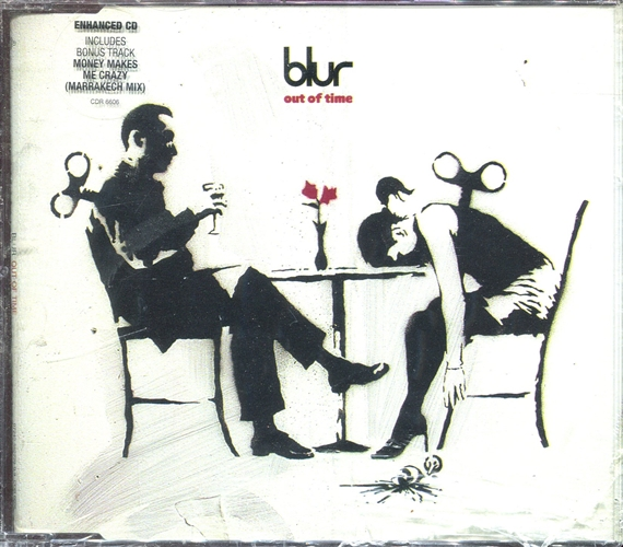 Blur - Out Of Time- Cd Maxi Uk