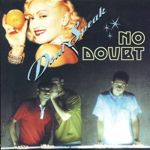 Don't Speak- Cd Single Euro - No Doubt