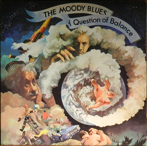 "Moody Blues - A Question Of Balance- 12"" Lp Vinyl France"