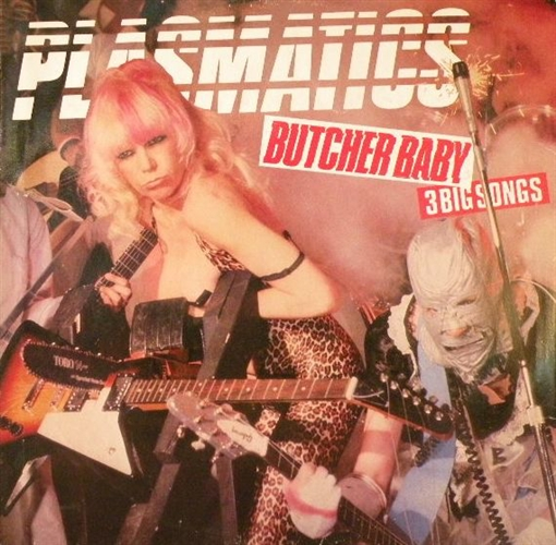 "Plasmatics - Butcher Baby- 12"" Maxi Vinyl Uk"