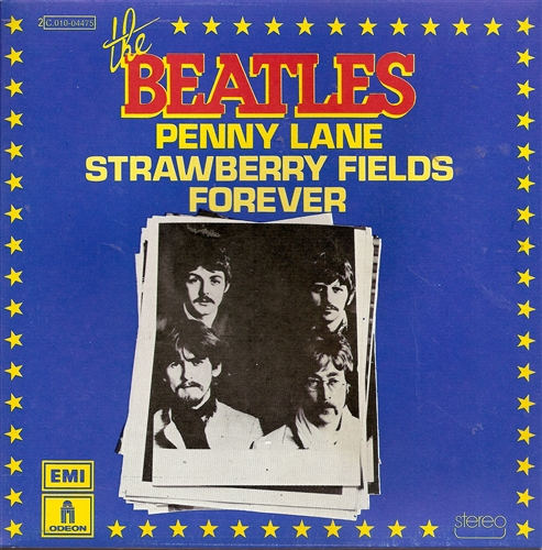 "Beatles - Penny Lane- 7"" Vinyl France"