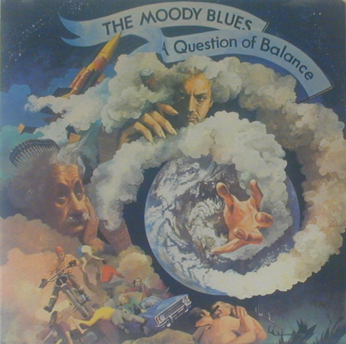 "A Question Of Balance- 12"" Lp Vinyl France - Moody Blues"