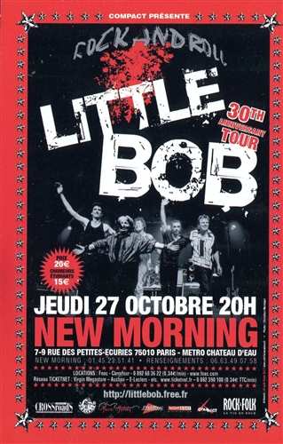 LITTLE BOB STORY - 30th anniversary tour - 50 gr