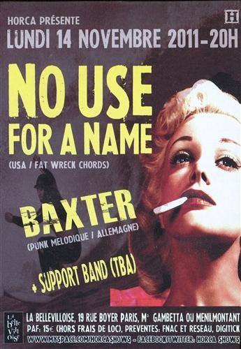 Baxter Flyer France