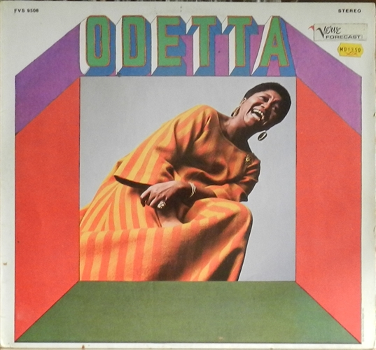 "Odetta - Odetta- 12"" Lp Vinyl Germany"