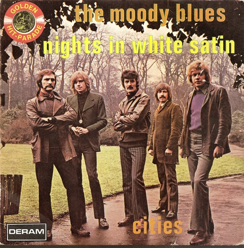 "Moody Blues - Nights In White Satin- 7"" Vinyl Belgium"