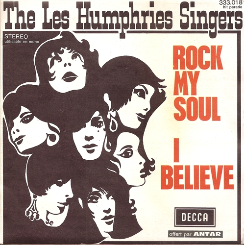 "Les Humphries Singers - Rock My Soul- 7"" Vinyl France"