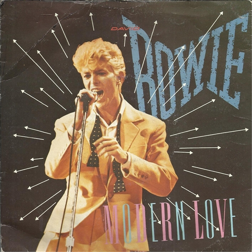 "David Bowie - Modern Love- 7"" Vinyl France"