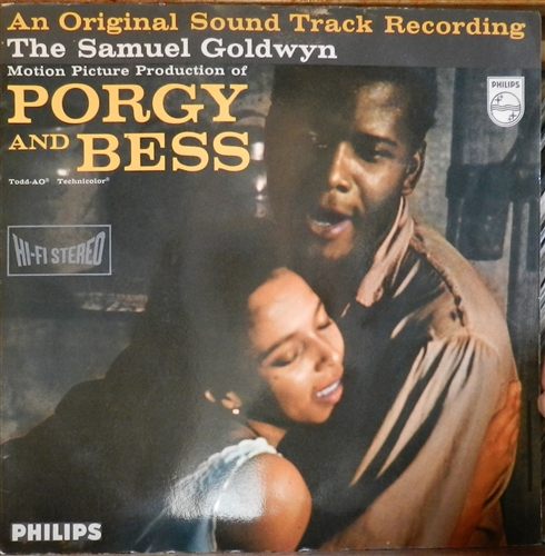 SOUNDTRACK - Porgy and Bess (Gerswhin) - LP