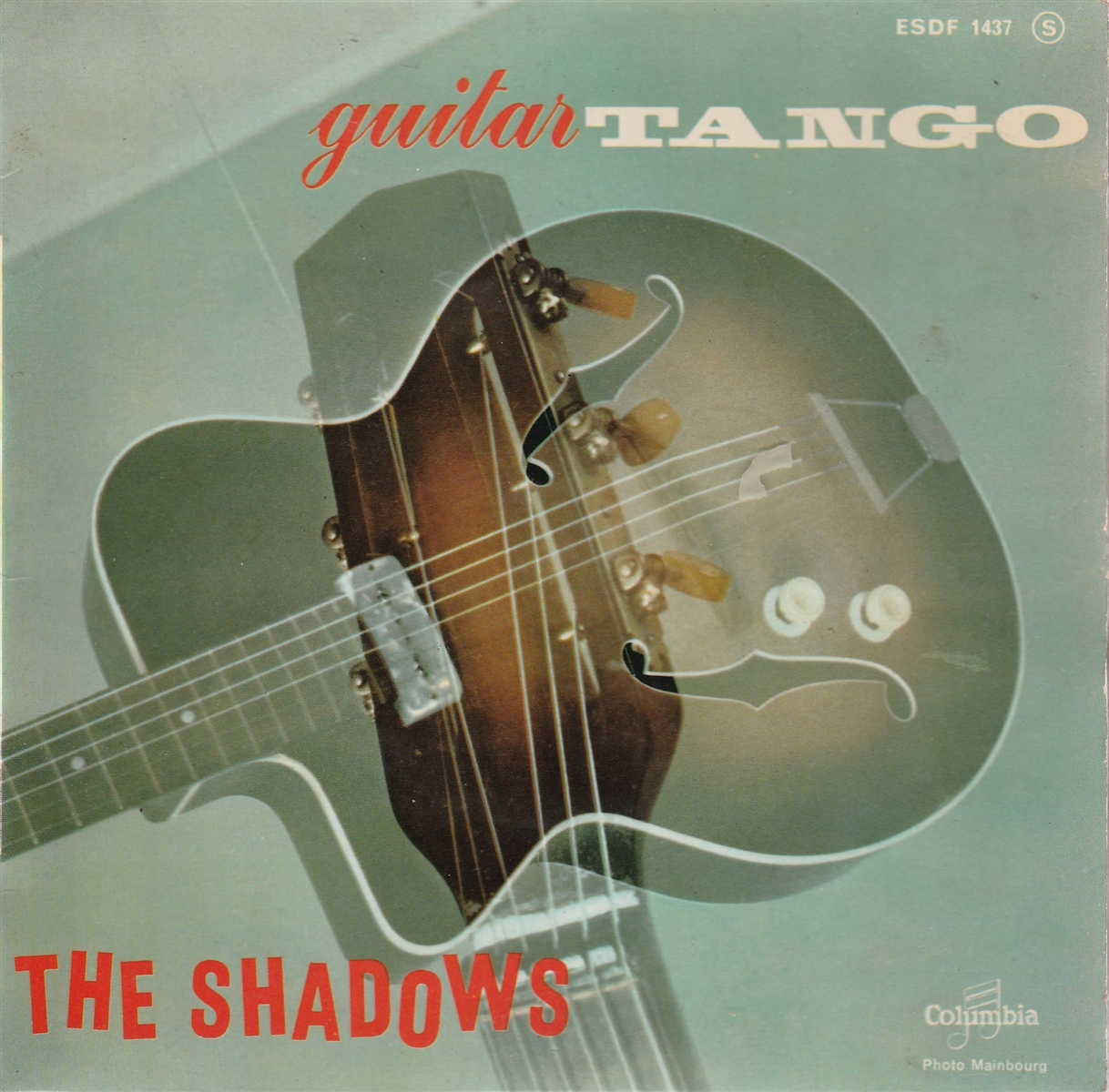 "Shadows - Guitar Tango- 7"" Vinyl France"