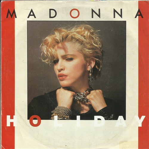 "Madonna - Holiday- 7"" Vinyl Germany"