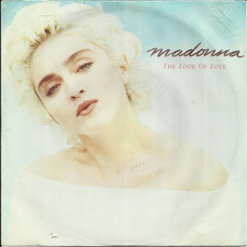 "Madonna - The Look Of Love- 7"" Vinyl Germany"