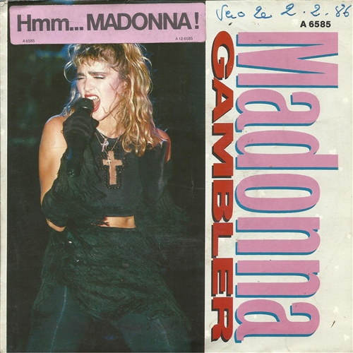 Madonna - Black 'N Blue Gambler 7''