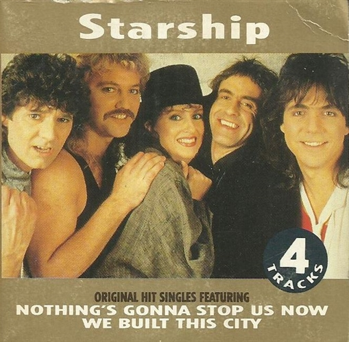 Starship - Nothing's Gonna Stop Us Now- Cd Maxi Euro