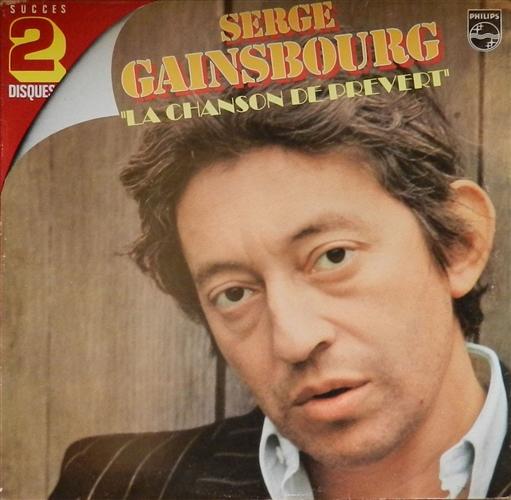 Album LA CHANSON DE PREVERT De SERGE GAINSBOURG Sur CDandLP