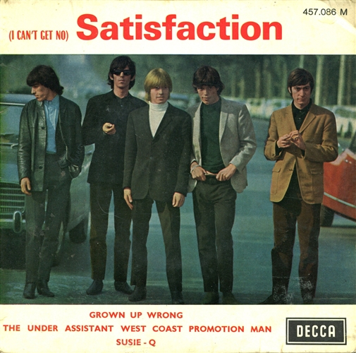ROLLING STONES - (I can't get no) satisfaction - 7inch x 1