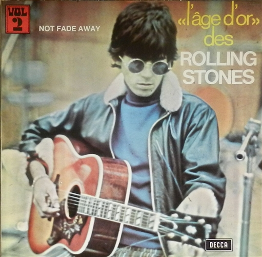 "Rolling Stones - Not Fade Away- 12"" Lp Vinyl France"
