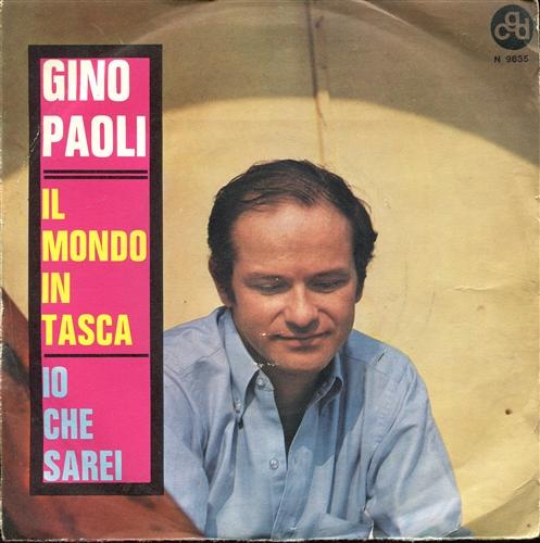 GINO PAOLI - Il mondo in tasca - 7inch x 1