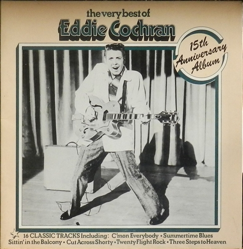 Eddie Cochran The Very Best Of Eddie Cochran Records