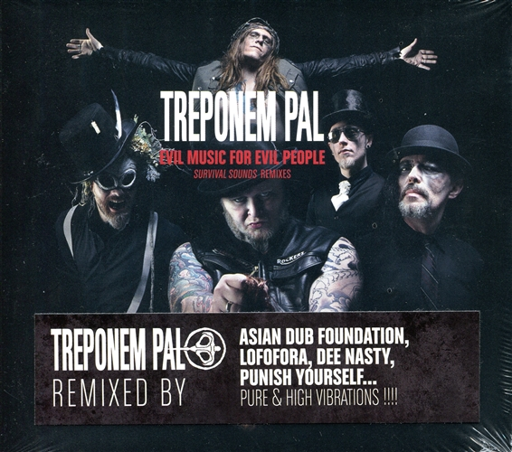 TREPONEM PAL - Evil music for evil people - Remixes - CD