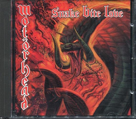Motörhead - Snake Bite Love- Cd Germany