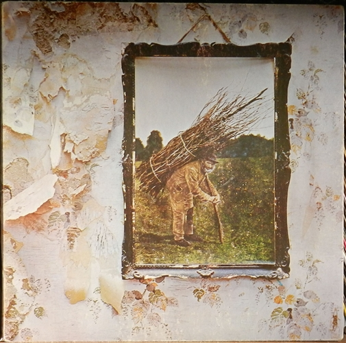 "Led Zeppelin - Iv- 12"" 33rpm Lp Vinyl France"