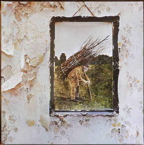 "Led Zeppelin - Iv- 12"" 33rpm Lp Vinyl Euro"