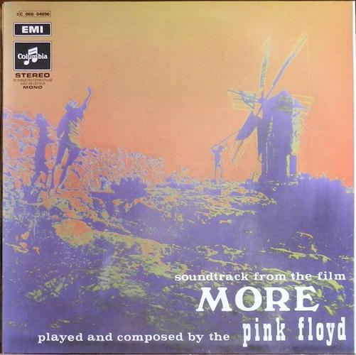 "Pink Floyd - More- 12"" 33rpm Lp Vinyl France"