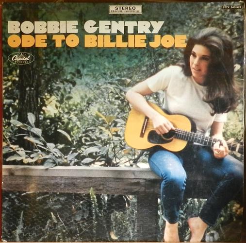 "Bobbie Gentry - Ode To Billie Joe- 12"" 33rpm Lp Vinyl France"