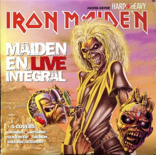 Iron Maiden - Maiden En Live Intégral- Cd France