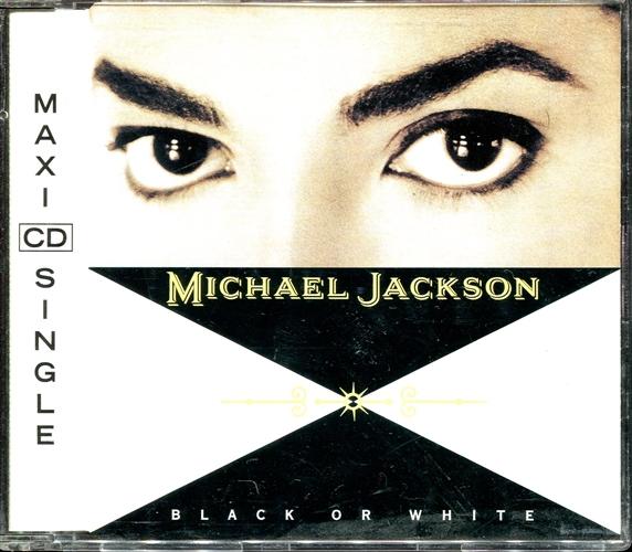 MICHAEL JACKSON - Black or white - CD Maxi