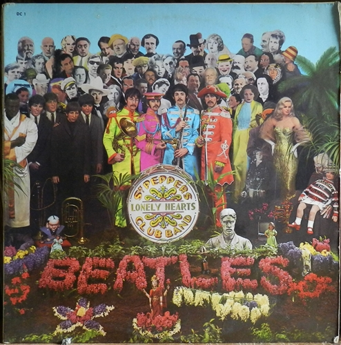 """Beatles - Sgt. Pepper's Lonely Hearts Club Band- 12"""" 33rpm Lp Vinyl France"""
