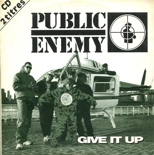 PUBLIC ENEMY - Give it up - CD single