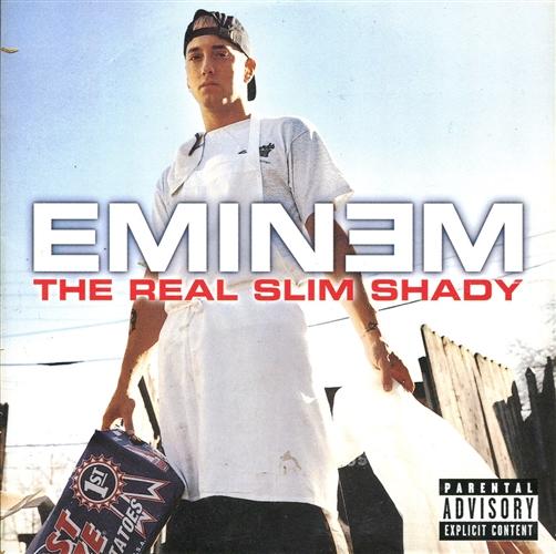 EMINEM - The real slim shady - CD single