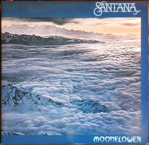 """Santana - Moonflower- 12"""" 33rpm Lp Vinyl Holland"""