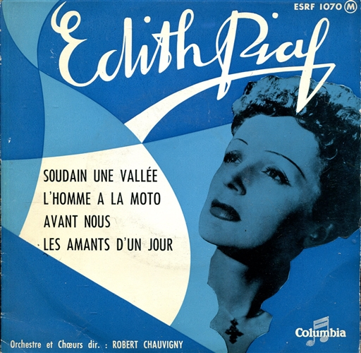 Edith Piaf - Soudain une vallée - 45T