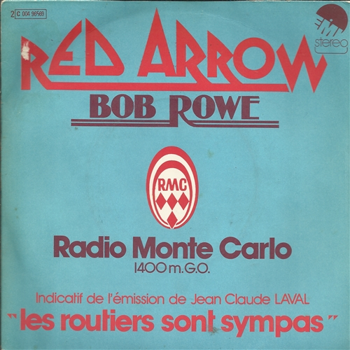BOB ROWE - Red arrow - 45T x 1