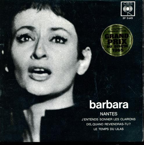 Barbara - Nantes - 45T