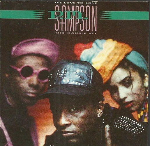 P.M. SAMPSON & DOUBLE KEY - We love to love - CD Maxi