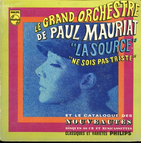 PAUL MAURIAT - La source - 45T x 1