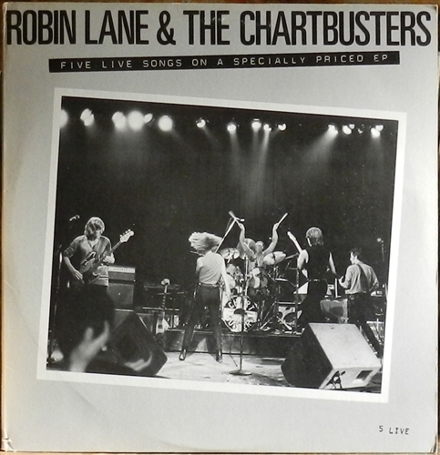 Robin Lane & The Chartbusters - 5 live - LP