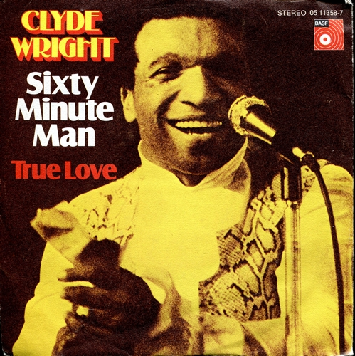 Clyde Wright - Sixty minute man - 45T