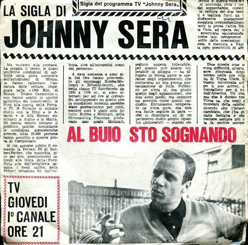 Johnny Dorelli Al Buio Sto Sognando (La Sigla Di Johnny Sera)