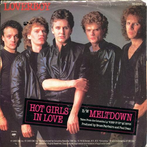 Loverboy - Hot girls in love - 45T