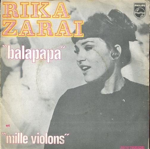 Rika Zaraï - Balapapa - 45T