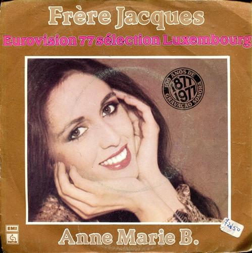 Anne Marie B. - Frère Jacques - 45T