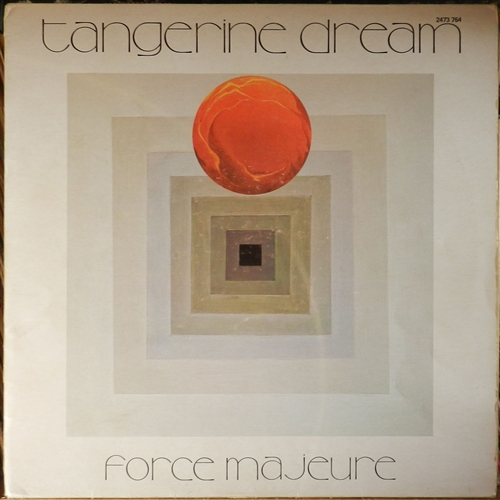 Tangerine Dream Force Majeure Vinyl Lp Tangerine Dream
