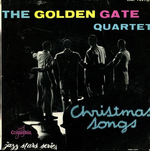 GOLDEN GATE QUARTET - Christmas songs - 45T x 1